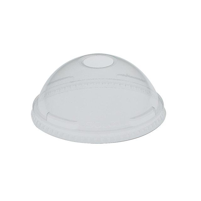 Dome Lid with Hole x 2000 (per case)