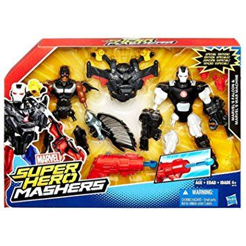 Marvel Super Hero Mashers Battle Mash Pack Falcon & War Machine